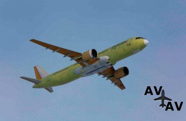 В Иркутске стартовали летные испытания четвертого опытного самолетаМС-21