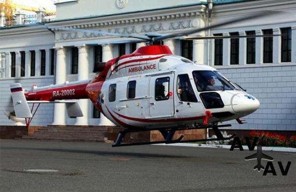 Первый гражданский «Ансат» достался татарстанской больнице