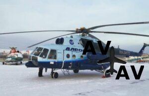 Еще один Ми-8МТВ-1 поступил в парк «Алросы»