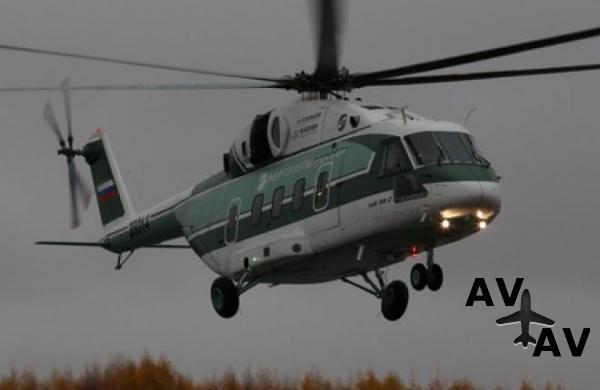 Предсерийный прототип вертолета Ми-38 совершил первый полет