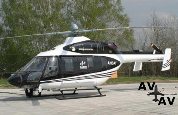 Казанский вертолетный завод показал обновленный «Ансат»